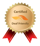 deaf friendly ribbon