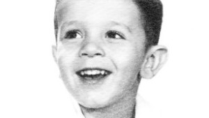 Philip Zazove at age 4 around the time he was diagnosed with a profound hearing loss.